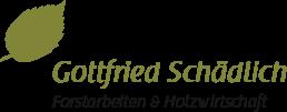 Gottfried Schädlich - Forstarbeiten & Holzwirtschaft